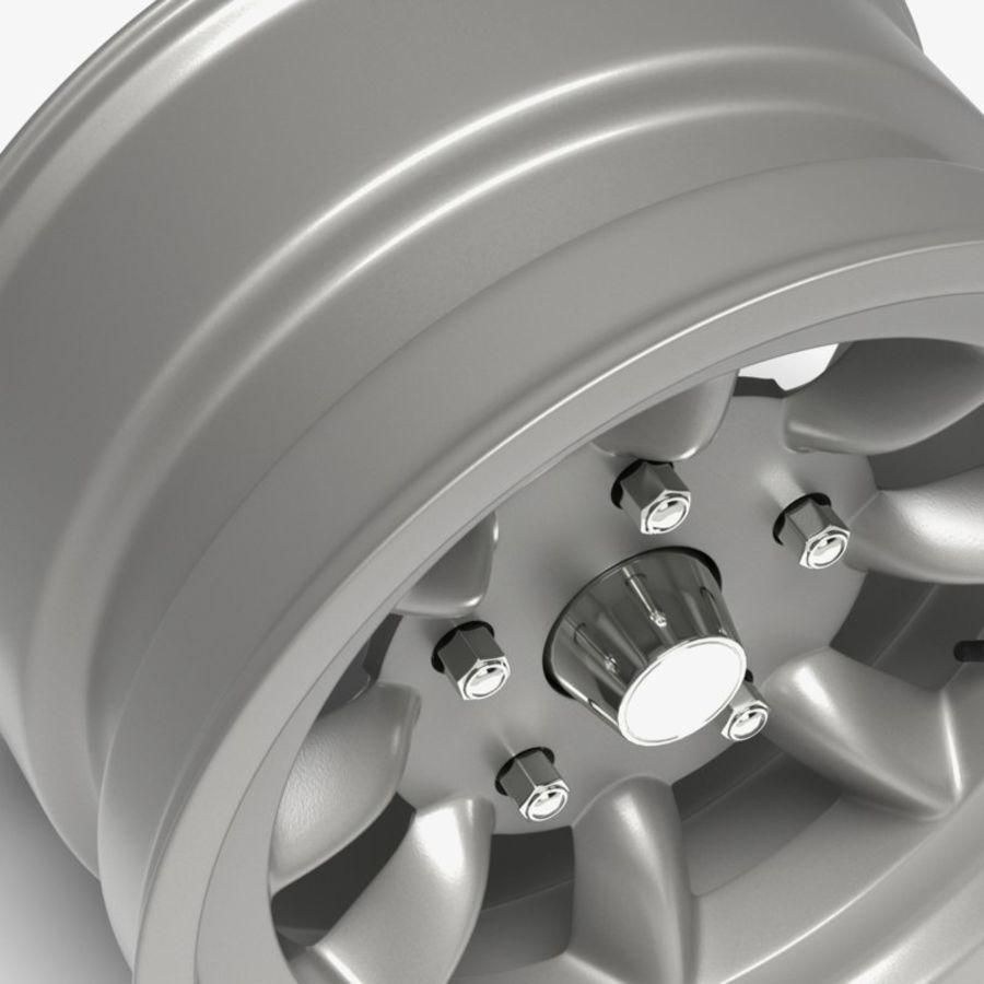 Minilite Wheel royalty-free 3d model - Preview no. 3