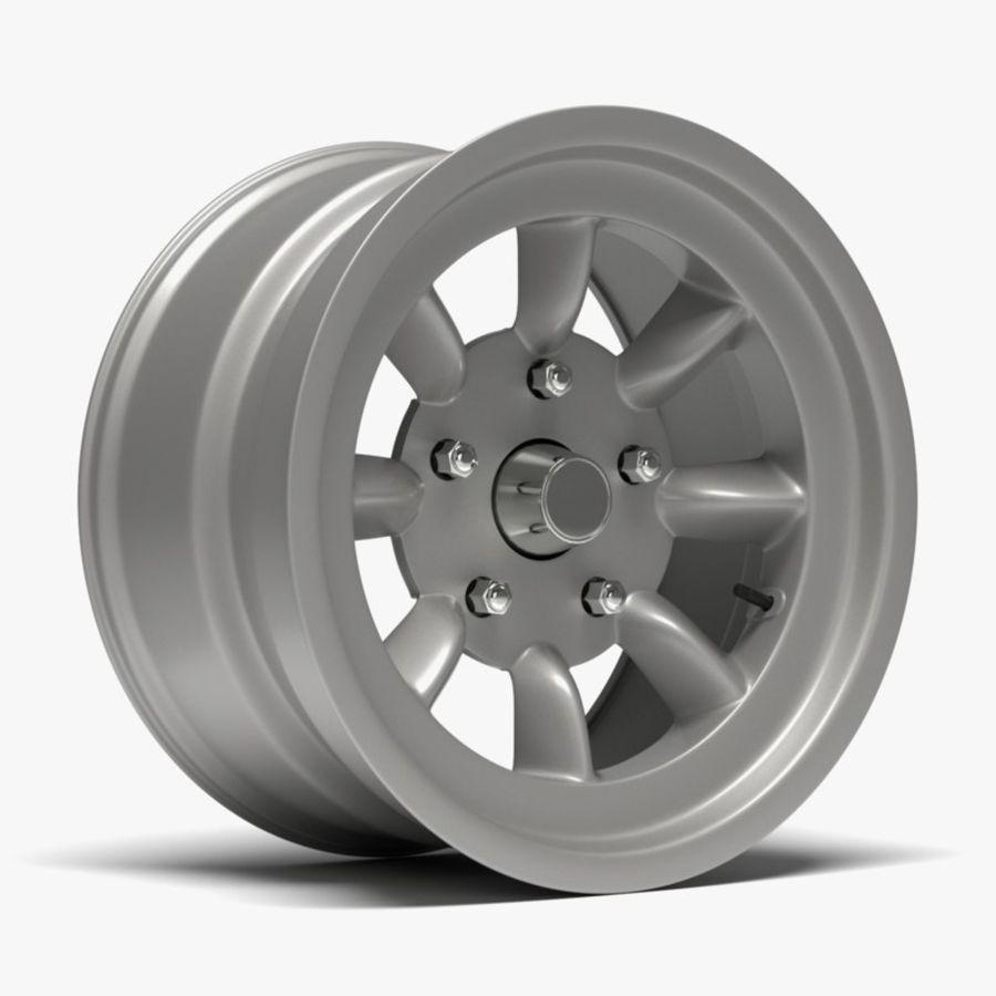 Minilite Wheel royalty-free 3d model - Preview no. 1