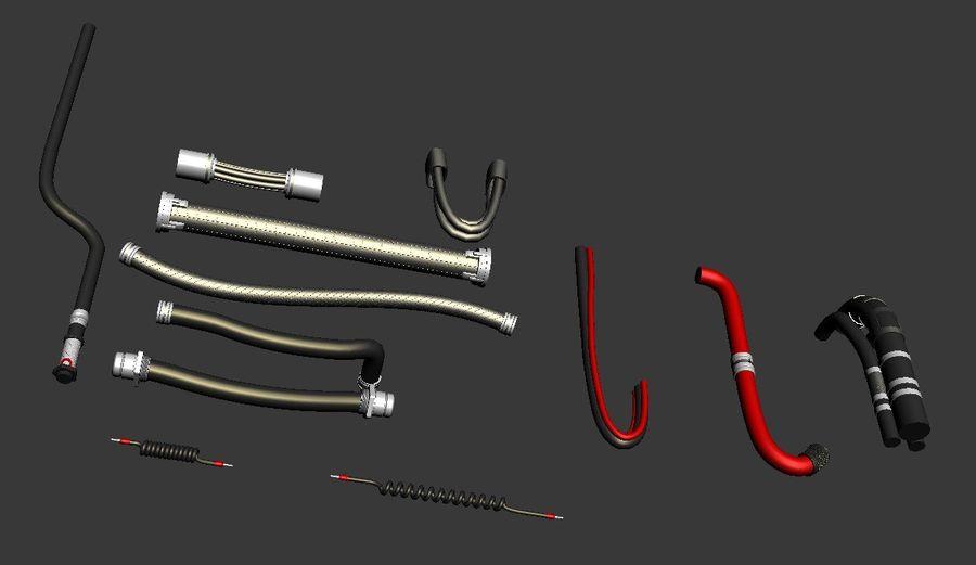 Kable Kitbash V. 2 royalty-free 3d model - Preview no. 4