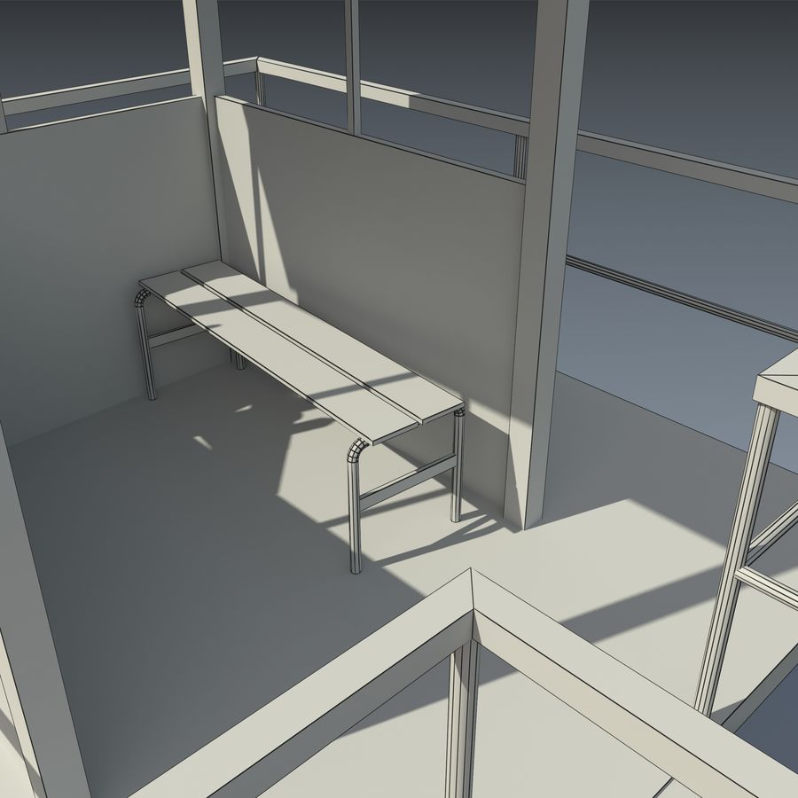 タワー royalty-free 3d model - Preview no. 8