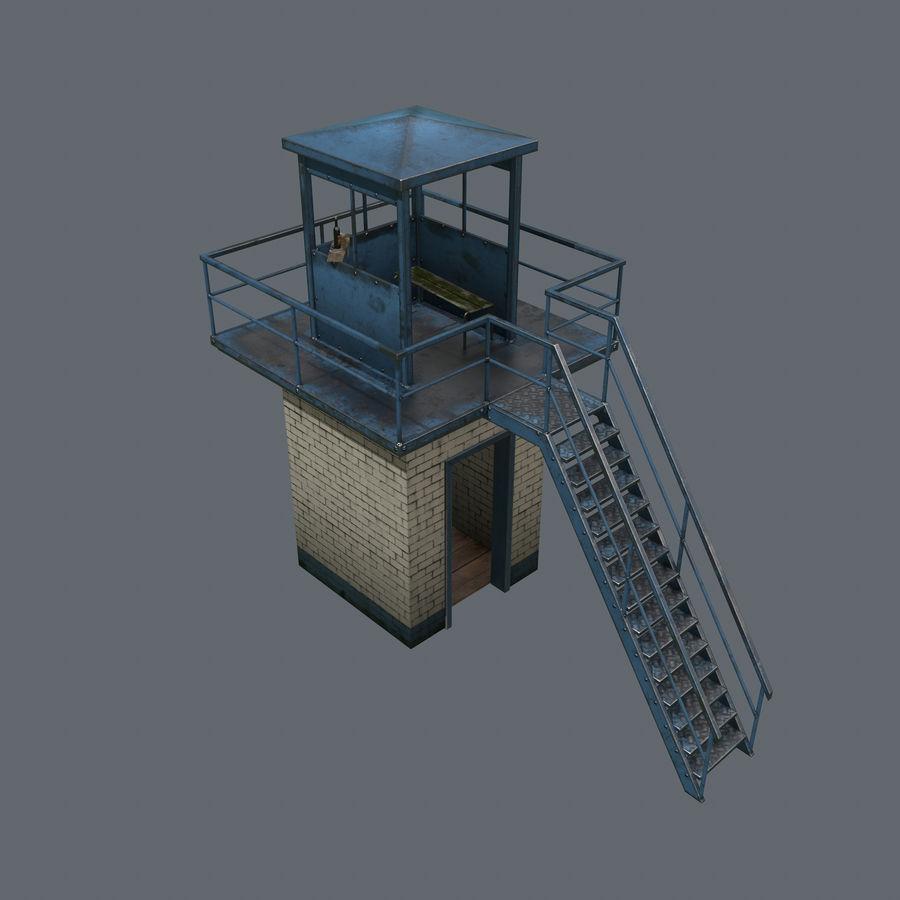 タワー royalty-free 3d model - Preview no. 10
