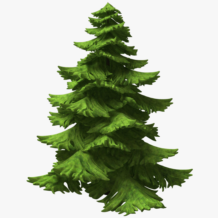 Fir Tree royalty-free 3d model - Preview no. 1