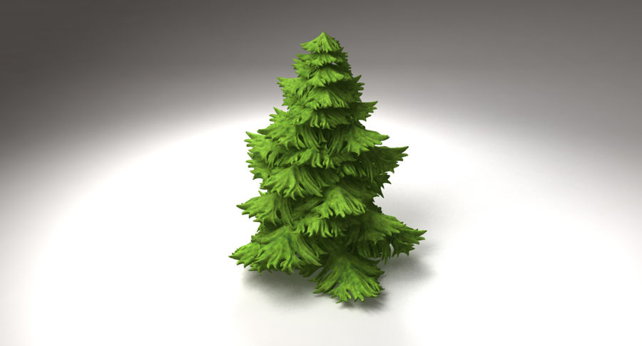 Fir Tree royalty-free 3d model - Preview no. 12