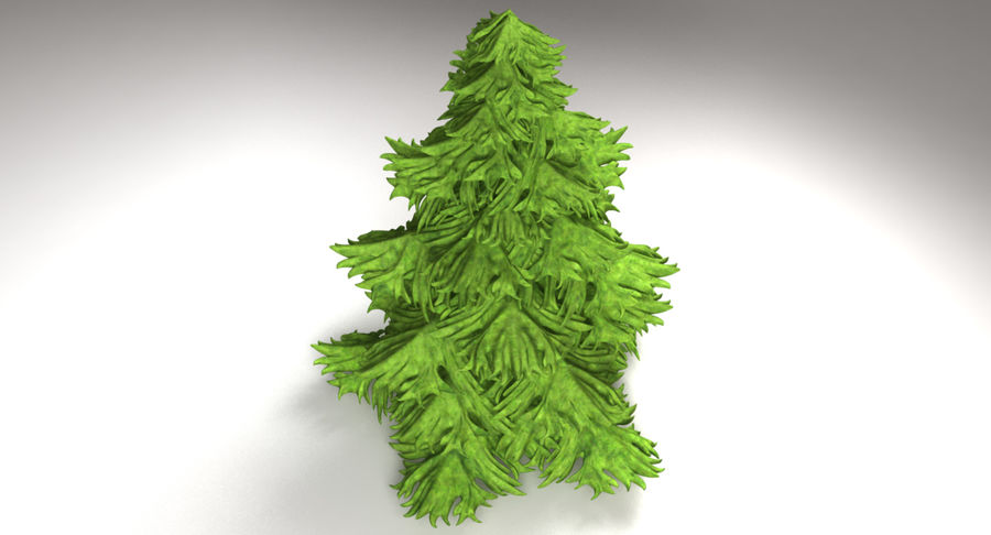 Fir Tree royalty-free 3d model - Preview no. 7