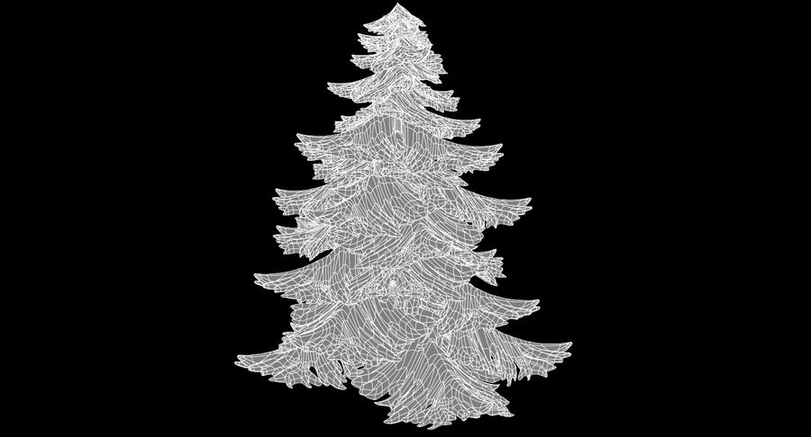 Fir Tree royalty-free 3d model - Preview no. 13
