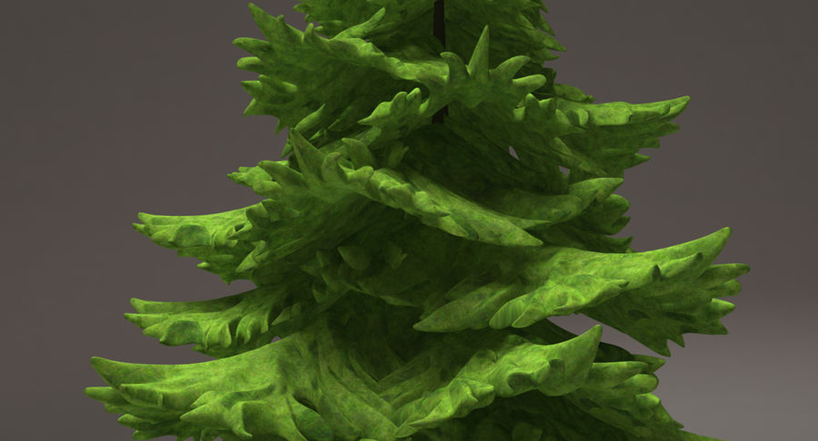 Fir Tree royalty-free 3d model - Preview no. 6