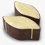 Шоколадные конфеты 3d model