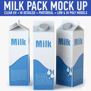 Mjölkkartong 3d model