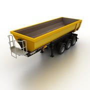 Semitrailer Tipper Dump 3d model
