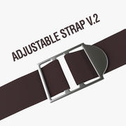 可调节肩带V.2 3d model