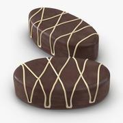 チョコレートキャンディ3 3d model