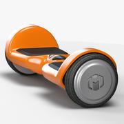 Planche à deux roues à équilibrage automatique 3d model