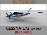 Cessna 172 Low Poly Skin 2 3d model