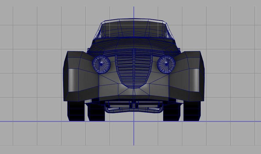 Antique Car royalty-free 3d model - Preview no. 4