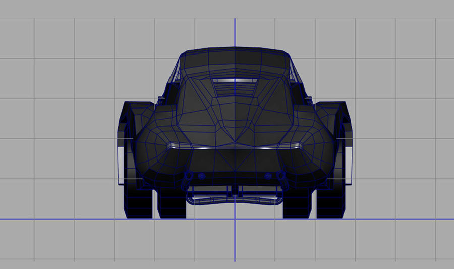 Antique Car royalty-free 3d model - Preview no. 2
