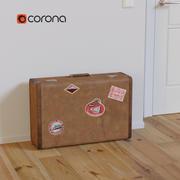 Stor väska 3d model