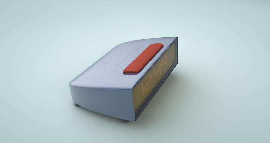 Alarm clock royalty-free 3d model - Preview no. 3