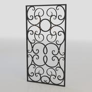 window bars 022 3d model