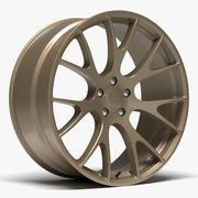 OE Performance 161 Dodge Hellcat Wheel 3d model