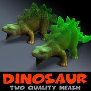 Malla de calidad dinosaurio 2 modelo 3d
