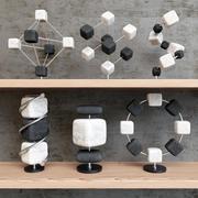 装饰分子 3d model