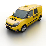 Fiat Doblo Taxi 2015 3d model