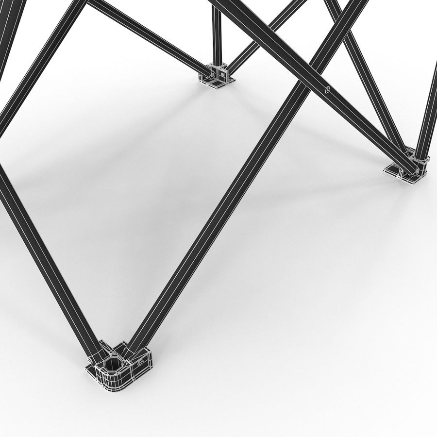 Camping Chair royalty-free 3d model - Preview no. 16