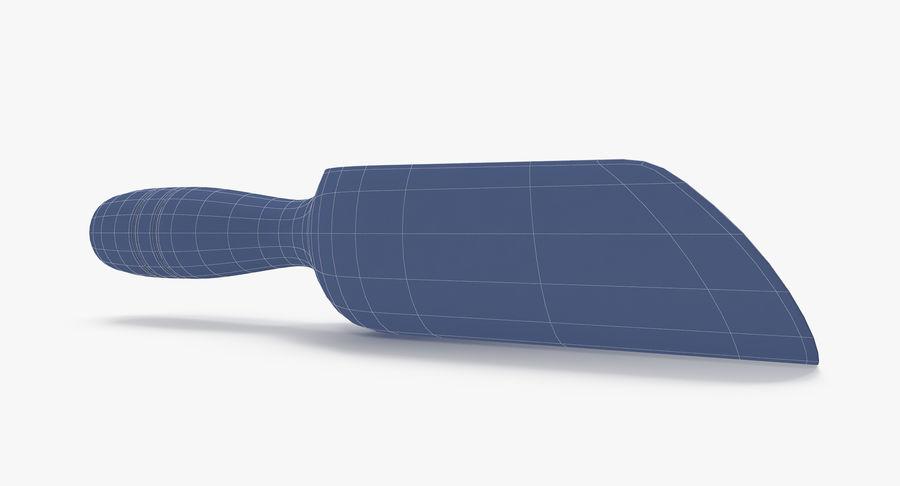 Colher de madeira royalty-free 3d model - Preview no. 23