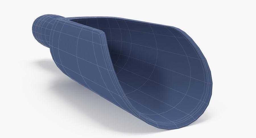 Colher de madeira royalty-free 3d model - Preview no. 20