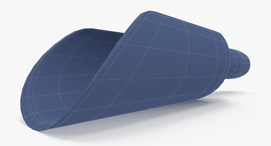 Colher de madeira royalty-free 3d model - Preview no. 24