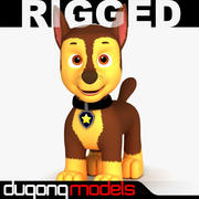 Paw Patrol Dog 01 3d model