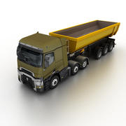 Renault T-Series Tipper 2014 3d model