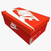 运动鞋盒 3d model