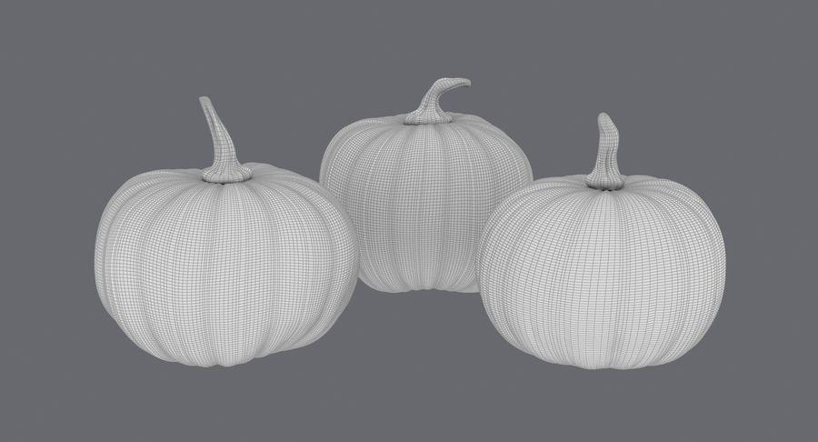 Pumpkins royalty-free 3d model - Preview no. 19