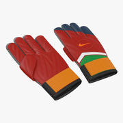 Goalie Gloves Nike 3d model