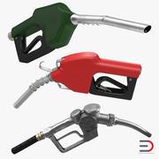 Collection de buses de carburant 3d model