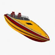 Speed Boat 3d model