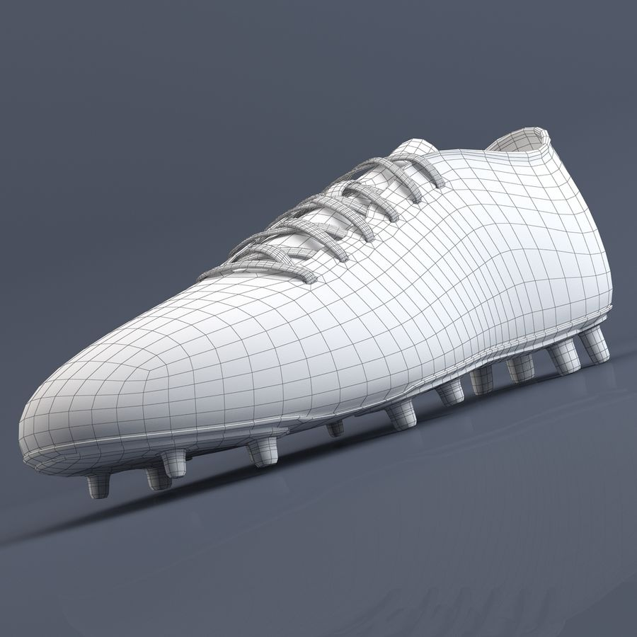 Chaussures athlétiques royalty-free 3d model - Preview no. 13