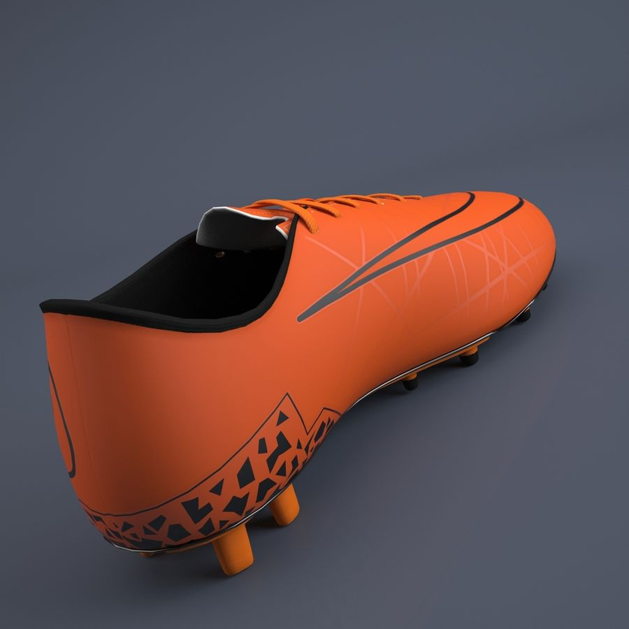 Chaussures athlétiques royalty-free 3d model - Preview no. 4