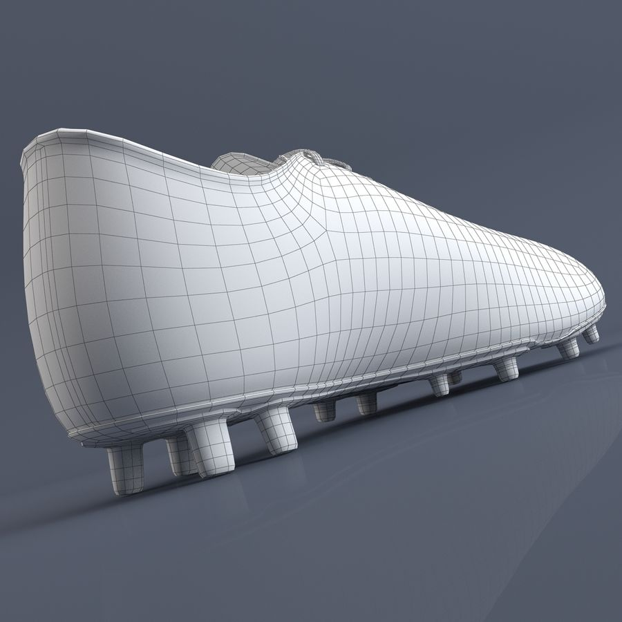 Chaussures athlétiques royalty-free 3d model - Preview no. 15