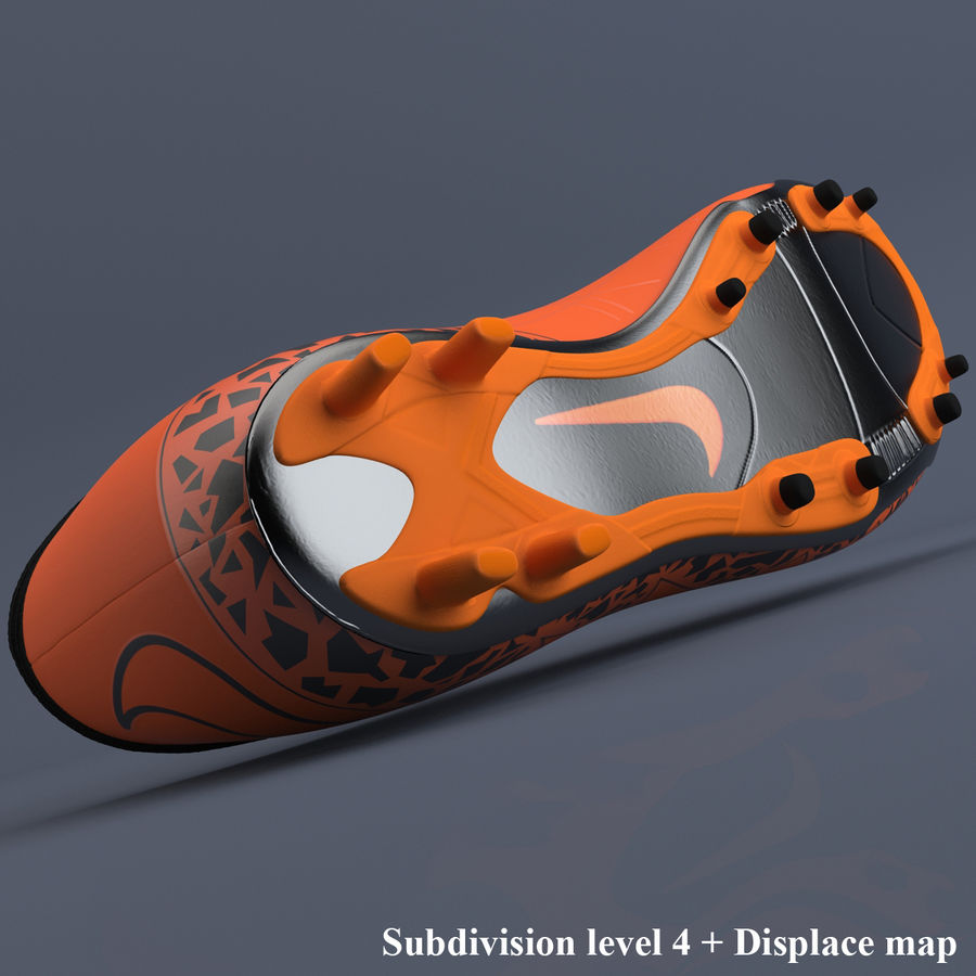 Chaussures athlétiques royalty-free 3d model - Preview no. 11
