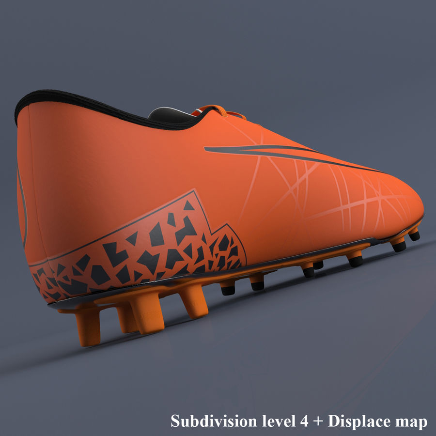 Chaussures athlétiques royalty-free 3d model - Preview no. 8