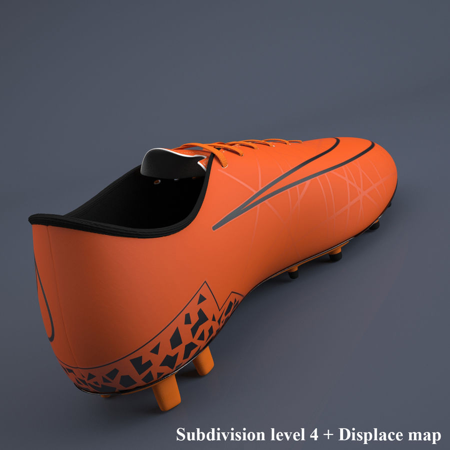 Chaussures athlétiques royalty-free 3d model - Preview no. 7