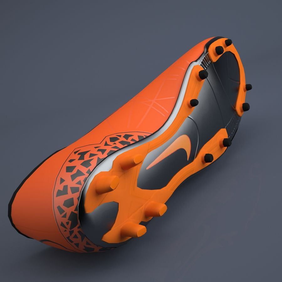 Chaussures athlétiques royalty-free 3d model - Preview no. 6