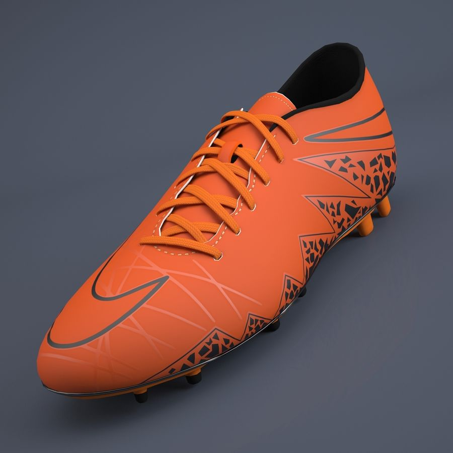 Sapatos atléticos royalty-free 3d model - Preview no. 2