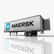 Maersk Truck Trailer 3d model