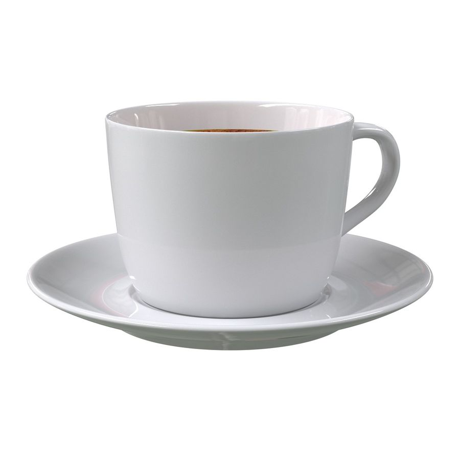 Coffee Cup 4 royalty-free 3d model - Preview no. 5