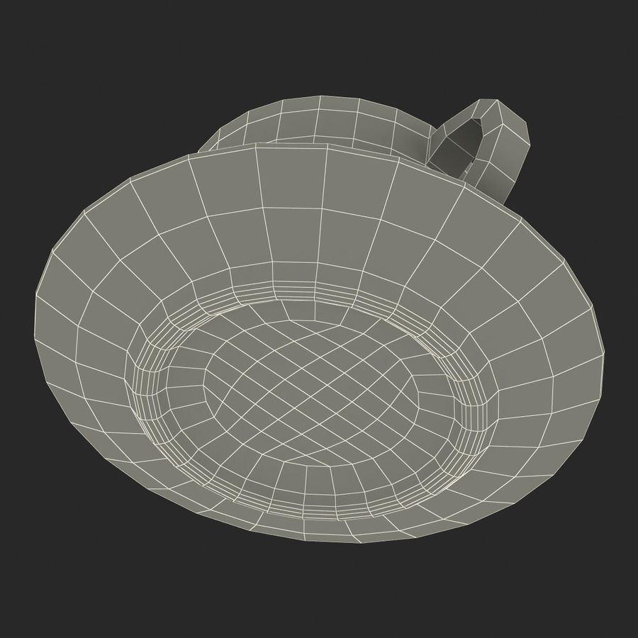 Coffee Cup 4 royalty-free 3d model - Preview no. 29