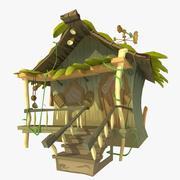 丛林小屋 3d model