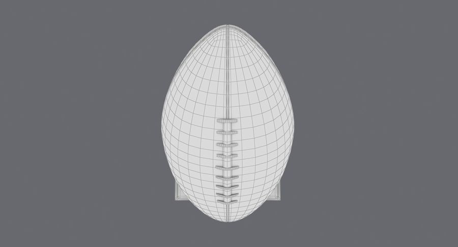 Football Trophy royalty-free 3d model - Preview no. 17